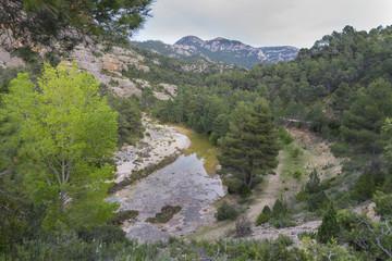 Fototapeta na wymiar Montes de Teruel.