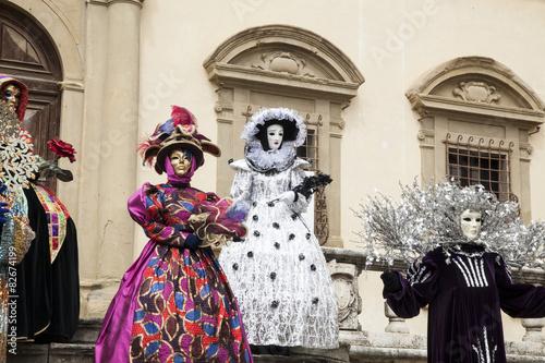 Tuinposter Imagination maschere maschera carnevale carnevale tipo venezia