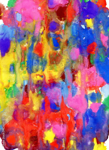 obraz lub plakat Abstract watercolour background. Watercolor texture. Decoration