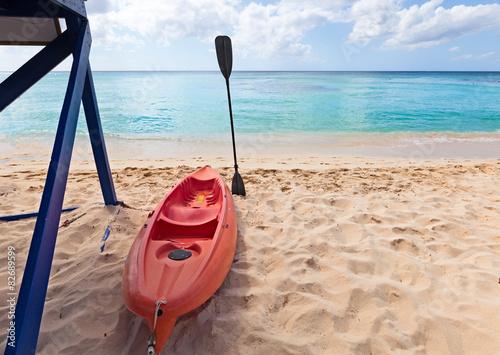 Fotografie, Obraz  ready to go with kayak
