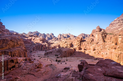 Spoed Foto op Canvas Midden Oosten Petra