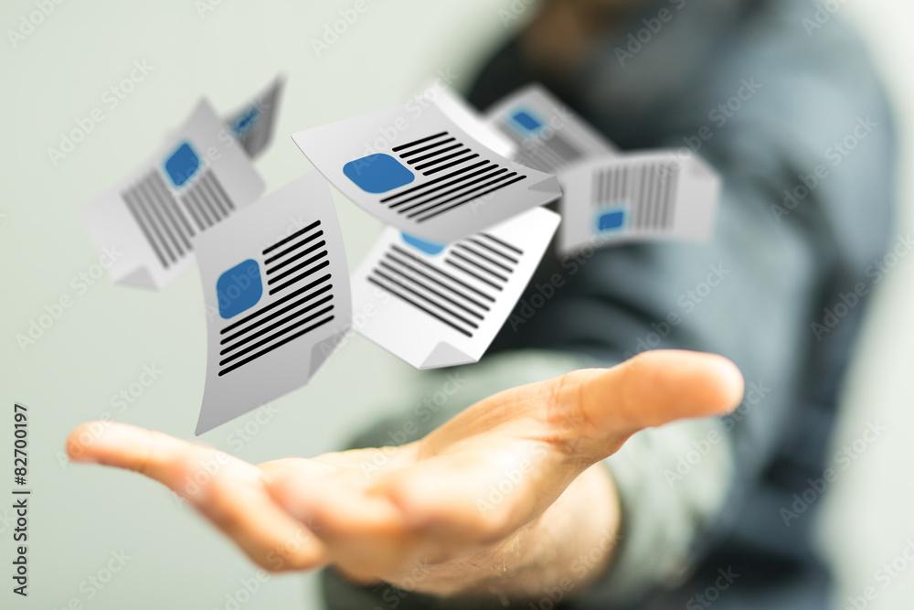 Fototapeta documents