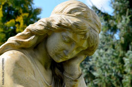 Fotografie, Obraz Anioł posąg