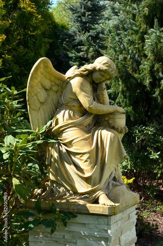 Obraz na plátně Anioł posąg