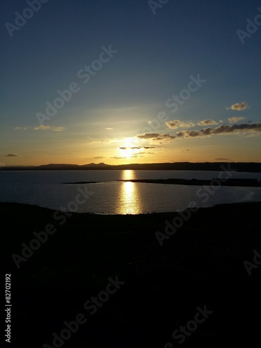 Photo  Zachód Słońca