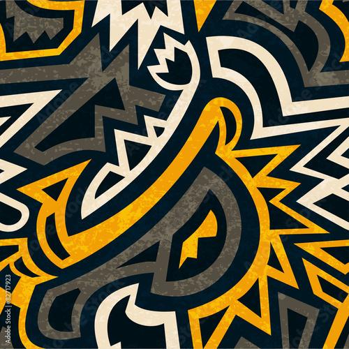 afrykanski-geometryczny-wzor-z-grunge