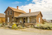 Abandoned House In The Gold Mining Ghost Town Of Bodie, Californ