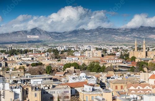 Foto op Canvas Cyprus Nicosia City View