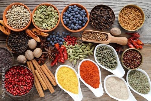 Fototapety, obrazy: Aromatic spices.