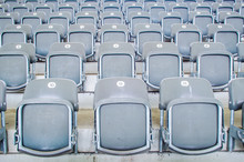 Greay Seats In A Stadium
