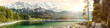 canvas print picture - Panorama Zugspitze