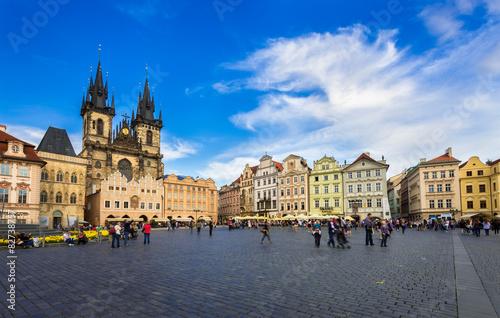 Spoed Foto op Canvas Krakau Old Town Square in Prague. Czech Republic