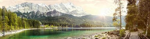 Obraz Panorama Zugspitze  - fototapety do salonu
