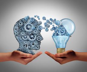 Obraz Concept Of Creating Ideas