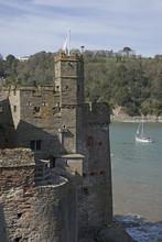 Dartmouth Castle Overlooks The...