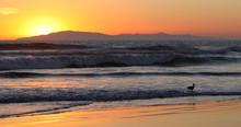 Sunset Waves