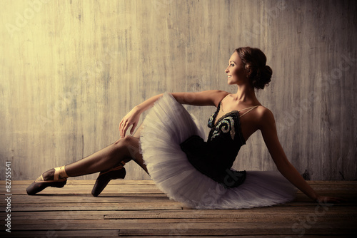 Obraz na plátně professional ballet