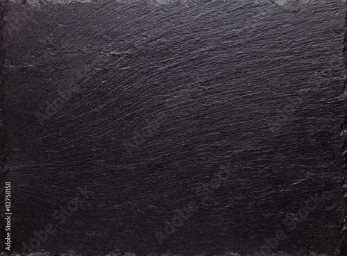Foto op Canvas Stenen Black stone texture