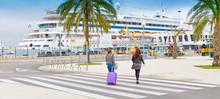 Kreuzfahrt - Hafen Von Palma De Mallorca