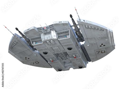 Deurstickers Nasa 宇宙船