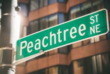 Peachtree Street In Atlanta