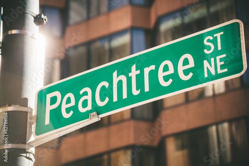 Peachtree Street in Atlanta #82786158