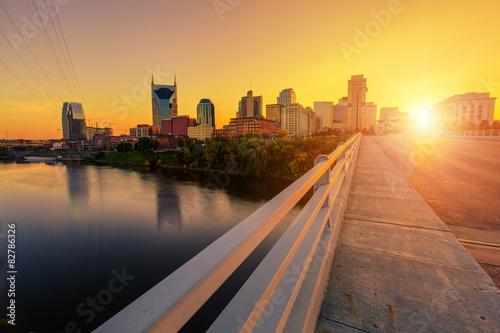 Nashville at Sunset #82786326