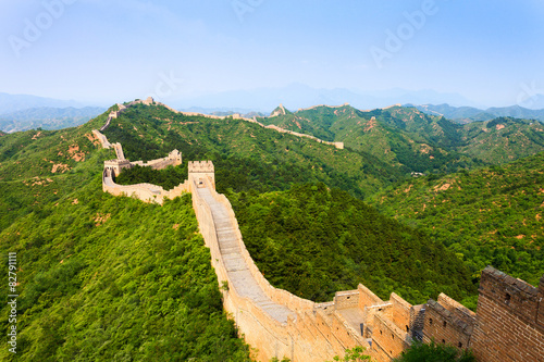 Εκτύπωση καμβά  Great wall under sunshine