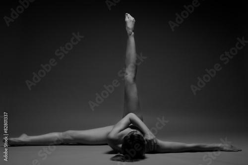 Obraz na plátně flexible girls nude photos