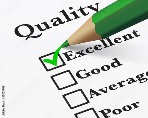 37e435ac8f3 Excellent Quality Survey Checklist - Buy this stock vector and ...