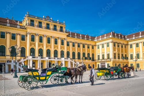 Garden Poster Vienna Schloss Schönbrunn