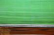 Leinwanddruck Bild -  abstract    in the metal green