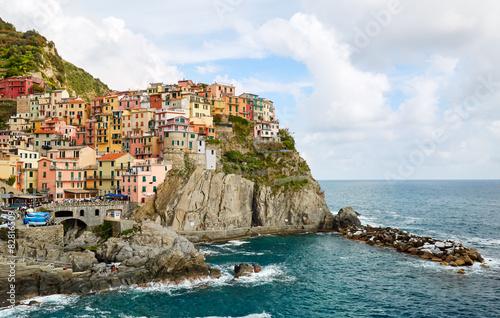 Fotografie, Obraz  Manarola, Cinque Terre, Italy
