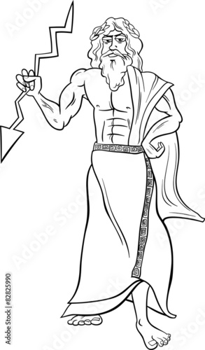 Greek God And Goddess Coloring Pages | Coloring Pages 2019 | 500x293