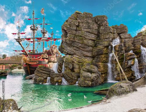 Fotografie, Obraz Pirate island