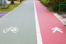 Bicycle And Pedestrians Reserv...