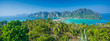 The view from Koh phi phi island in Thailand