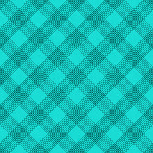 Teal Striped Gingham Tile Pattern Repeat Background