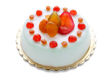 Sicilian Traditional Cake With Candied Fruit