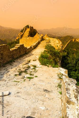 Αφίσα  great wall under sunshine