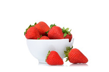 Fresh Organic Strawberries In ...