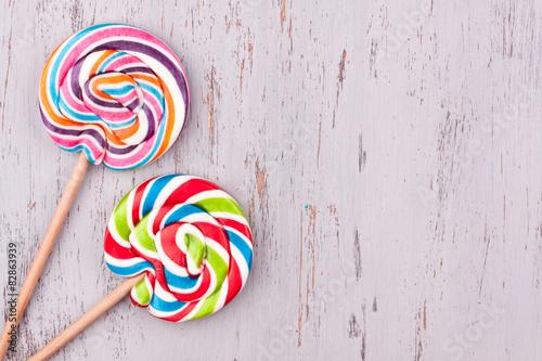 Bonbons sucettes Poster