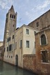 Bell Tower, Dorsoduro in Venice, Italy