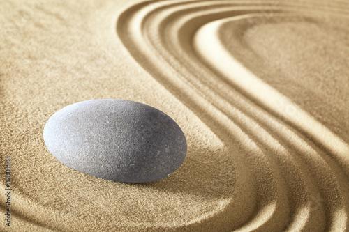 Fototapety, obrazy: zen meditation stone garden