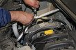 car mechanic repairs a motor vehicle