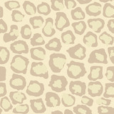 Leopard Seamless Spotted Background, Leopard Texture - Vector