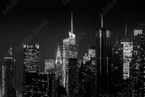 Fototapety, obrazy: New York City skyline
