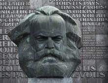 Karl Marx Kopf, Nischel In Chemnitz, Sachsen
