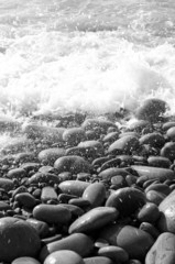 Fototapeta Kamienie piedras salpicadas por el mar 9470-f15