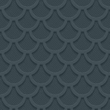 3D Dark Gray Seamless Perforat...